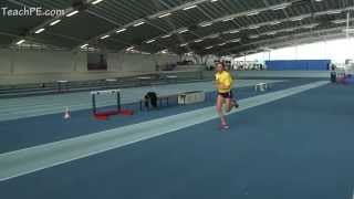 Plant action drill - pole vault drill