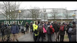 LIVE: Assange extradition hearing starts at Woolwich court in London: stakeout - RUPTLY