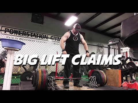 Big Lift CLAIMS Require PROOF - No Exceptions