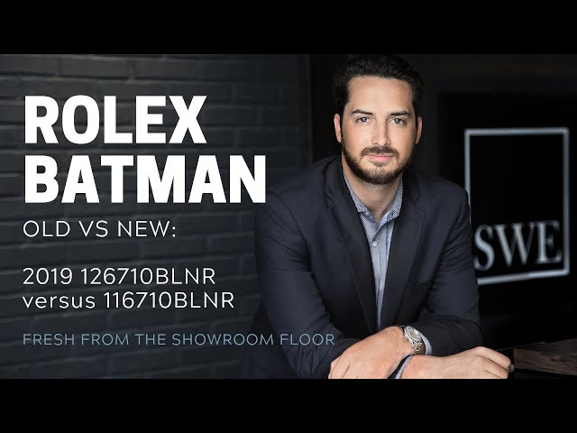 Rolex Batman Old vs New: GMT-Master II Batman 126710 vs 116710 | SwissWatchExpo [Watch Review]