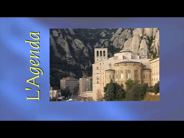 L'agenda de Montserrat del 26 de juliol a l'1 d'agost de 2021