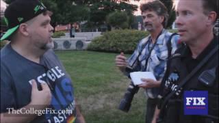 TheCollegeFix.com: Mizzou race activist hijacks Orlando vigil