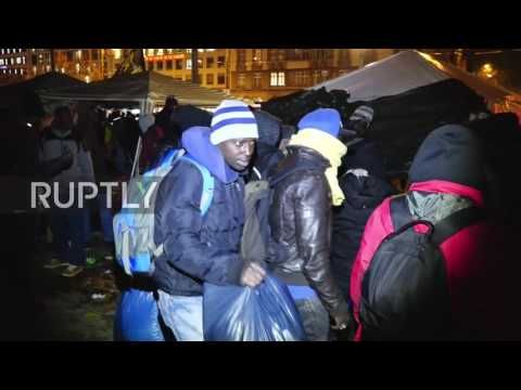 Germany: Munich refugee camp cleared following hunger strikes