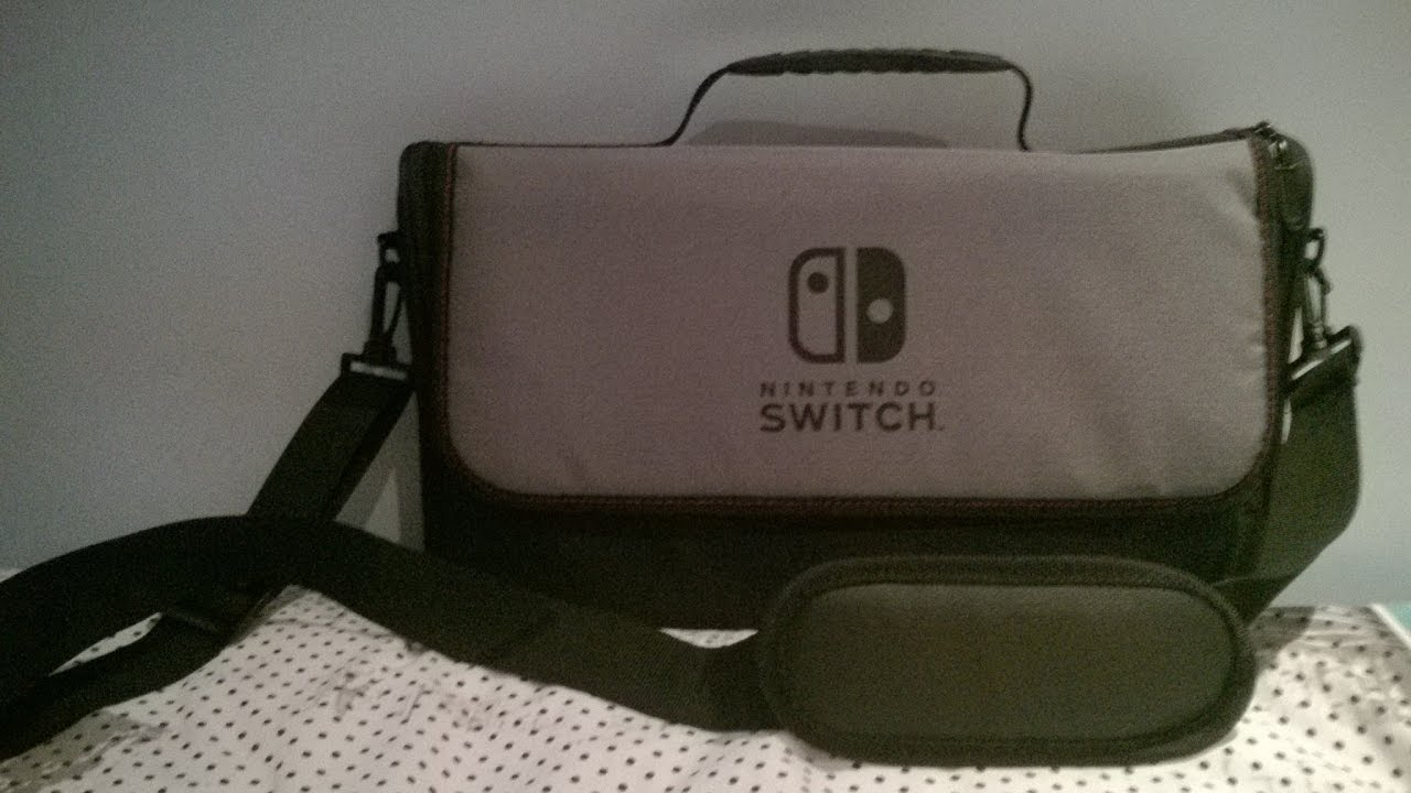 Nintendo Switch Accessories Everywhere Messenger Bag Unboxing Review