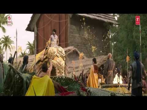 Bali Bali Ra Bali sahorey bahubali video promo (BAHUBALI2 THE CONCLUSION)
