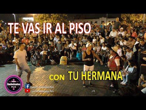 Chanchito JR ft. Cholo Victor (Hinchas peruanos,Grupo Terna,Niños de ahora) Comicos Ambulantes Perú
