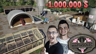 """🔨 Budowa FARMY za 1.000.000 $ ✔ Chlewnia, Hale na Ziemniaki, Szklarnie! ☆ """"od Zera do Farmera""""#114"""