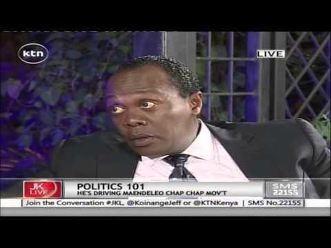 Jeff Koinane Live With Machakos Governor Dr. Alfred Mutua On His Maendeleo Chap Chap Part 1