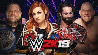 WWE 2K19: COMBATES EN DIRECTO Y ROAD TO 40.000 SUSCRIPTORES!!