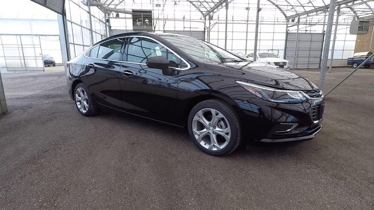 2018 CHEVROLET CRUZE PREMIER - MOSAIC BLACK - YouTube