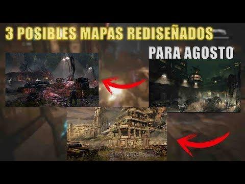 Posibles Mapas Rediseñados Para Agosto l Gears Of War 4