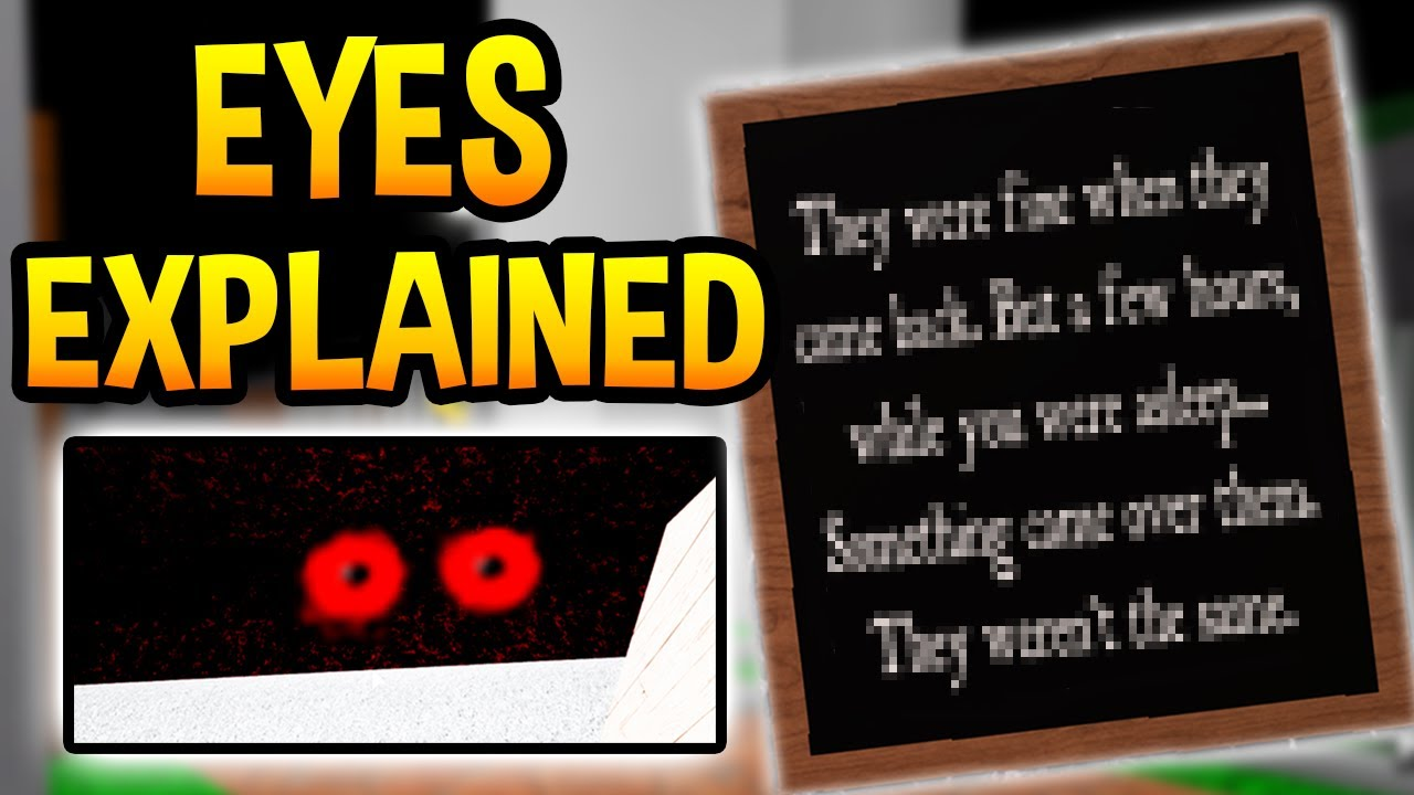 Piggy Secret Eyes Explained Chapter 12 Predictions Roblox Youtube