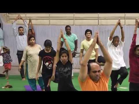 International Day of Yoga 2016 || IIT Madras -Part 6/9 - Asanas by Katyayini Reddy