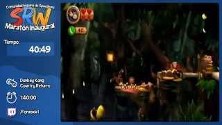 Donkey Kong Country Returns Speed Run 1:36:39 por Fonzoide (Maratón Inaugural SRW)