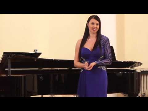 Mojca Bitenc - sopran | Recital at World Voice Day in Ljubljana