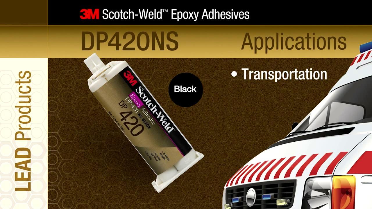 3M™ Scotch-Weld™ Toughened Epoxy Adhesive DP420NS – 3M