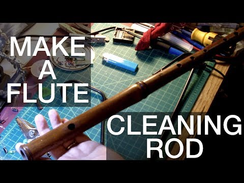 Make Your Own Flute Cleaning Rod/Swab From A Coathanger