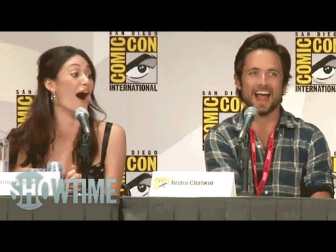 Shameless  Justin Chatwin's Replacement  ComicCon 2011