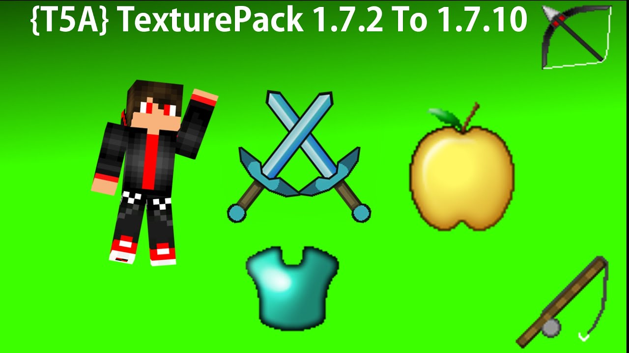 how to make a texture pack minecraft 1.7 10