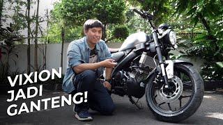 YAMAHA XSR 155: MOTOR RETRO GANTENG