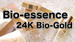 Bio-Essence 24K BIO-GOLD Skincare Review | suhaysalim