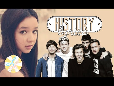One Direction - History (Maddi Jane's Cover) LYRICS