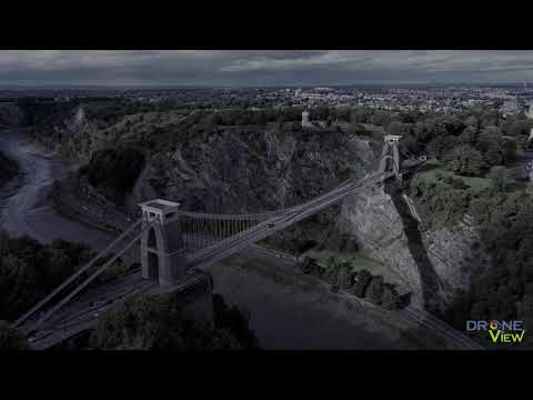 Clifton Suspension Bridge with the Mavic 2 Pro