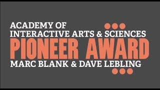 Marc Blank & Dave Lebling (Zork Creators) Pioneer Award Video