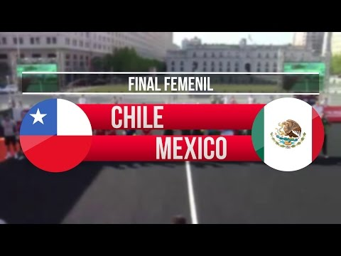 Chile vs México | Final (Femenil) - Homeless World Cup Chile 2014