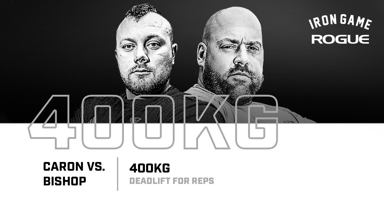 Full Live Stream | Caron vs. Bishop 400KG Deadlift For Reps Record Attempt