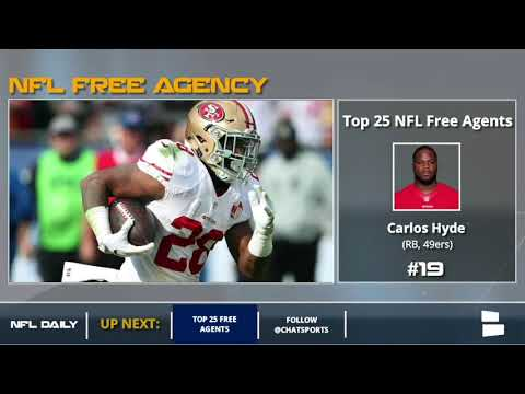 Top 25 NFL Free Agents Before 2018 NFL Free Agency Starts