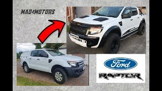 Download Ford Ranger to Raptor Build in 10 Minutes Mp3 and Videos