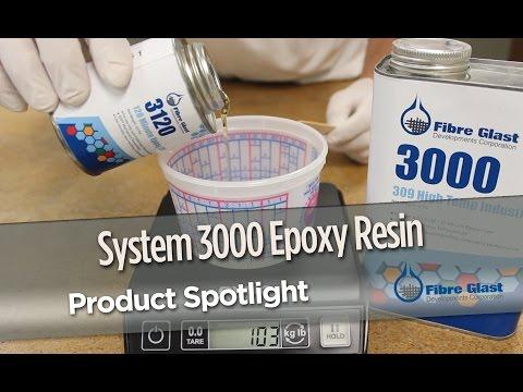 System 3000 Epoxy Resin