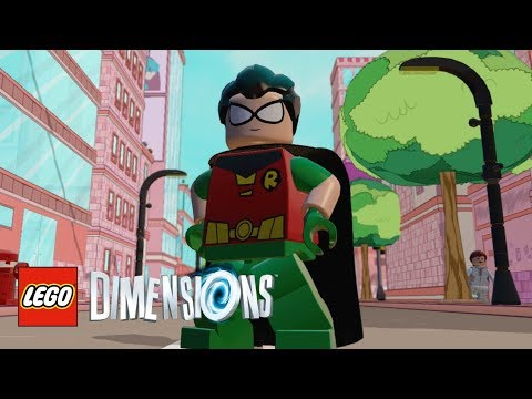 LEGO Dimensions - Robin (Teen Titans Go!) Free Roam