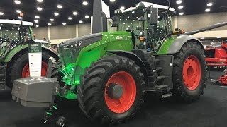 500 hp Fendt 1050 Tractor Intro at the 2016 National Farm Machinery Show