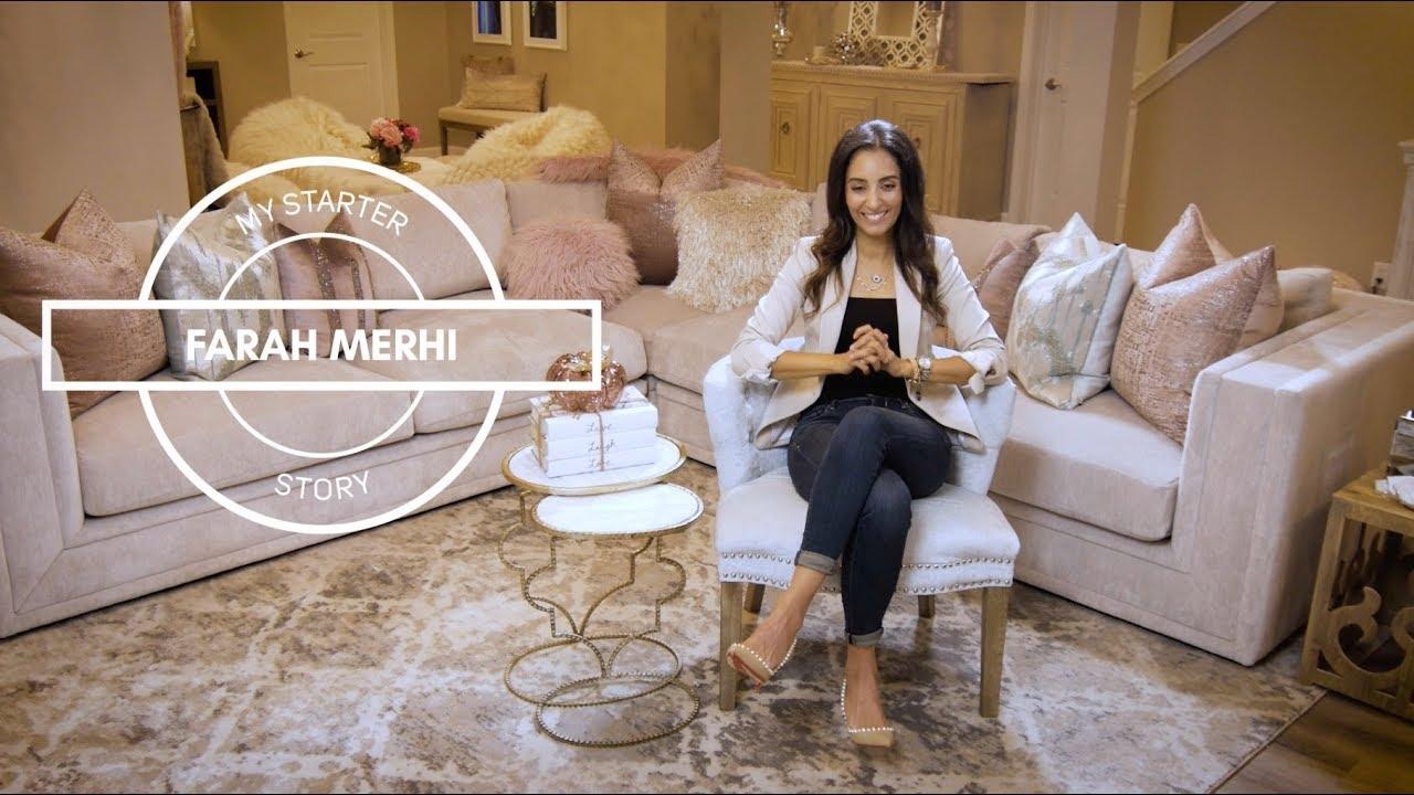 Farah Merhi Inspire Me Home Decor My Starter Story