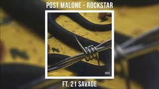 Post Malone ft. 21 Savage - Rockstar (Instrumental w/ hook) Video