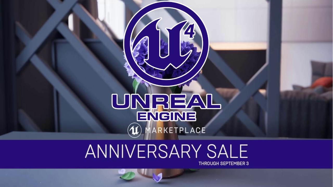 Unreal Engine Marketplace 5th Anniversary Sale