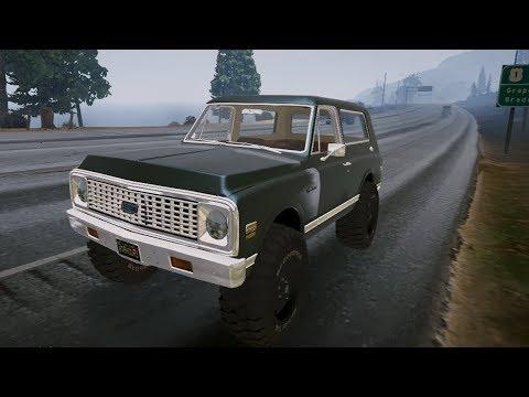 Gta 5 1971 Chevrolet Blazer Gta V Mod 307 Youtube