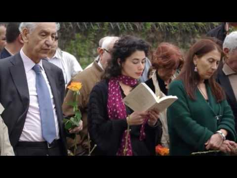 LOUNIS AIT MENGUELLET rend hommage a ait ahmed