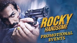 Rocky Handsome Movie (2016) Promotional Events | John Abraham, Shruti Haasan