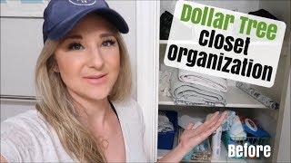 DOLLAR TREE CLOSET ORGANIZATION | ON A BUDGET ORGANIZATION IDEAS