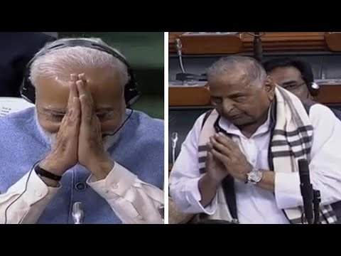 How PM Modi responded when Mulayam Singh Yadav blessed him for 2019 polls Mp3