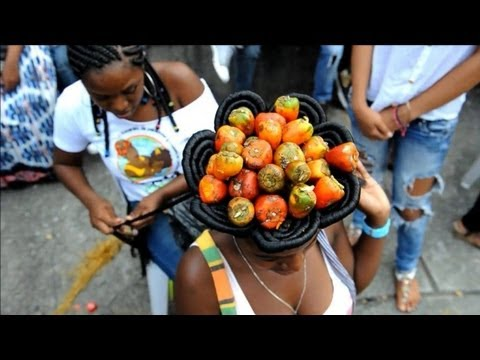 Afro hairdressers contest held in Colombia