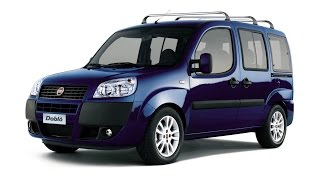 Замена лобового стекла на Fiat Doblò в Казани.