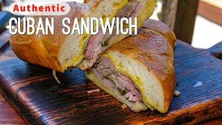 Authentic Cuban Sandwich Recipe | El Cubano | Cuban Pork Sandwich Recipe