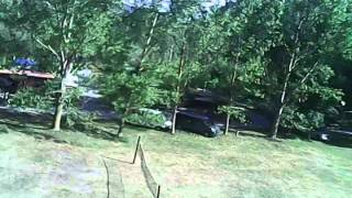 Hubsan X4 H107C Flying Camping #no-stabilize