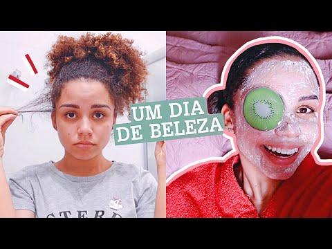 MEU SPA DAY CASEIRO: CABELO, ROSTO, CORPO, UNHAS... | por Ana Lídia Lopes