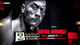 "WWE Royal Rumble 2013 Theme Song - ""What Makes A Good Man"" + Download Link"