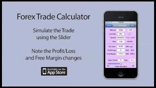 Forex Trade Calculator - iPhone App